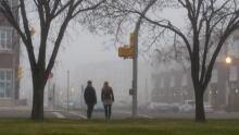 Fog in Regina, Nov. 16, 2015