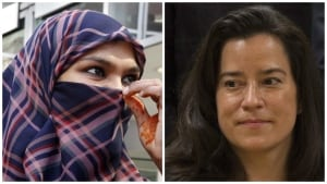 Zunera Ishaq and Jody Wilson-Raybould