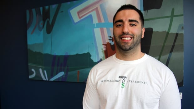 Arman Aryapour is crowdfunding for his project, Scholarship Apartments, which would see students who live and pay rent in his planned building for four years get up to half that money back upon graduation to help pay of their student loans.