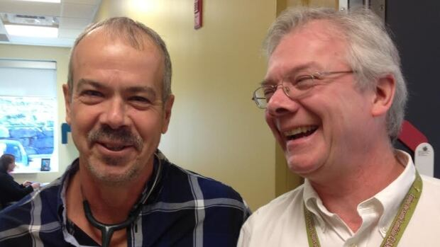 Dr. Steve Pelletier (left) and Harry Jones (right) are part of the Clarence-Rockland Family Health Team.
