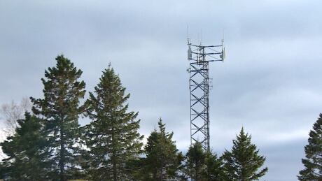 Rogers cell tower in Rothesay, 2524 Rothesay Rd.