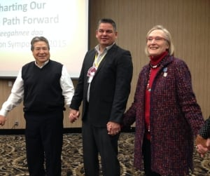 Gord Peters, Isadore Day, Carolyn Bennett