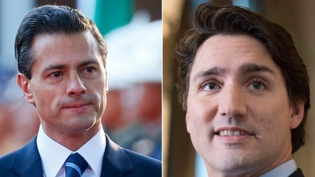 The hashtag #APEChotties has blown up on Twitter, spawned by Prime Minister Justin Trudeau and Mexican President Enrique Pena Nieto, who are in attendance at the Philippines summit.