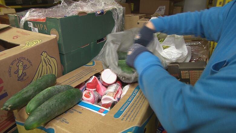 Food Bank Volunteer Moncton