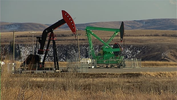 Oil pumpjack from cgy archive