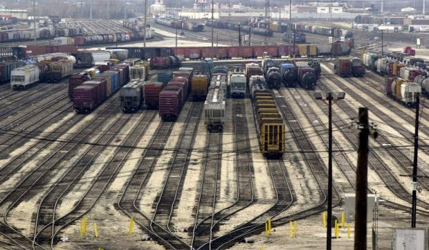 chicago rail yard terminal intermodal