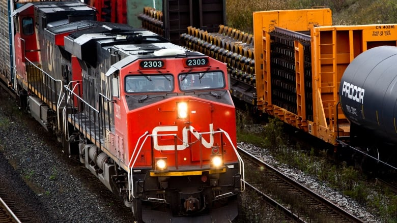 Sparks from CN trains to blame for brush fires, Edmonton homeowner says