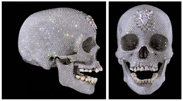 For the love of God diamond skull