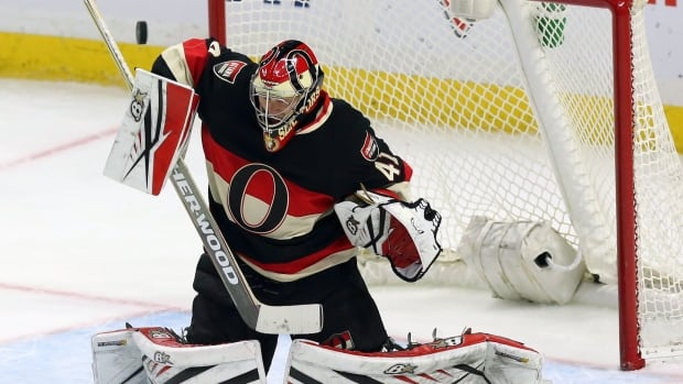 Hockey teams likely won't find the Ottawa Sentaors' Craig Anderson on Niki Sawni's Puck App, but they will be able to track down a local goalie to fill in when they're suddenly short a player.