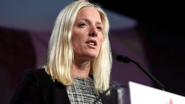 Minister of Environment and Climate Change Catherine McKenna said carbon reduction targets should not be legally binding in the interests of keeping the U.S. as part of the treaty.