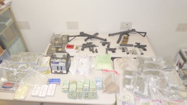 Guns, drugs seized by police in series of raids across GTA ...