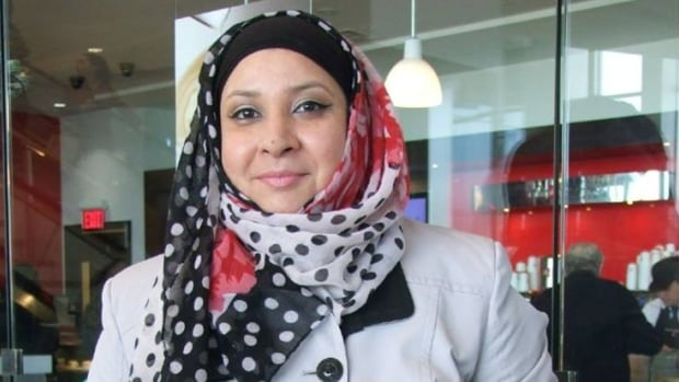 Family asks woman to take off hijab out of safety fears