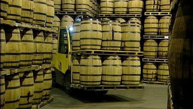 Crown Royal distillery