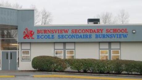 Burnsview Secondary School in Delta