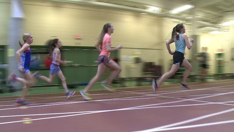 7cb4a2361a63 Track and field athletes in St. John s train indoors at the MUN Field  House