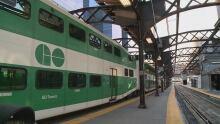 GO Train Union station