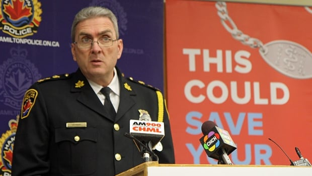 A new partnership with MedicAlert will help the Hamilton Police more quickly and efficiently find missing persons, said Chief Glenn De Caire.