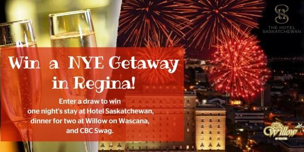 New Year's Eve Regina getaway Hotel Saskatchewan