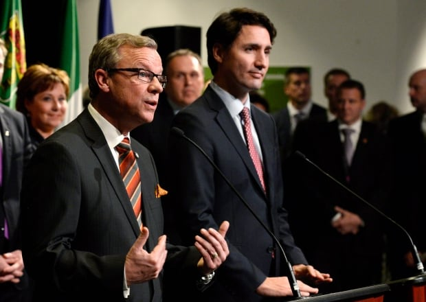 Brad Wall Justin Trudeau climate change first ministers meeting Nov 23 2015