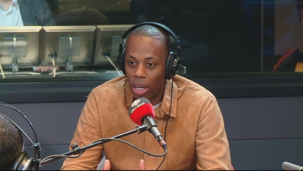 Kardinall Offishall was in the Metro Morning studio on Tuesday.