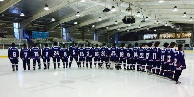 Korean women's hockey team