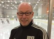 Bruce Donaldson - head coach UPEI women's hockey
