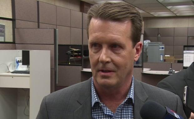 Regina mayor Michael Fougere