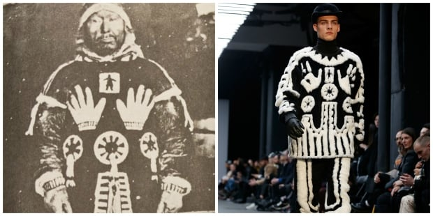 KTZ fashion label copies Inuit design