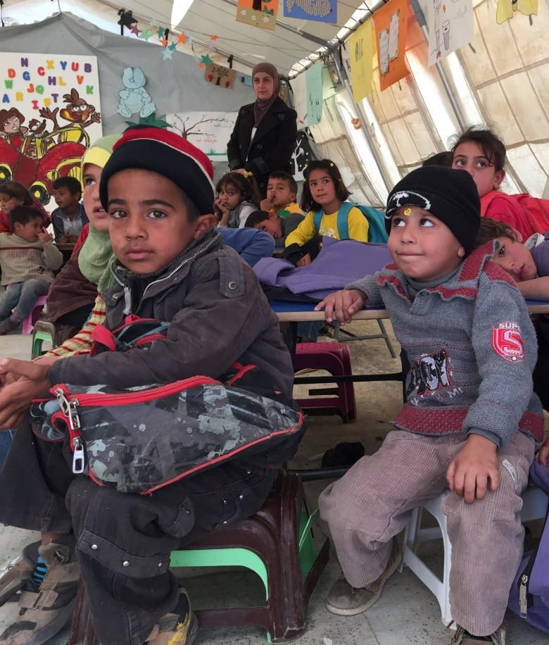 Syrian children in refugee camps struggle with mental scars of war