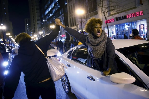 Chicago protests after Laquan McDonald's death