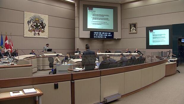 Calgary city council meeting Nov. 25