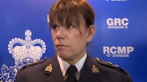 Toronto RCMP Supt. Lise Crouch