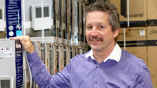 Jim Estill, CEO of Danby appliance company, is sponsoring 50 families of Syrian refugees, and is footing the $1 million-plus price tag personally.