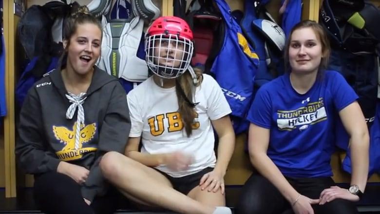 Ubc Thunderbirds Make Mockumentary On Stupid Questions Female Hockey