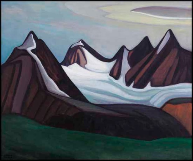Lawren Harris Mountain and Glacier