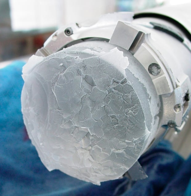 ice core GREENHOUSE GAS
