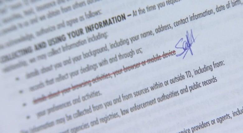 TD Visa customers' browsing activities open to 'surveillance