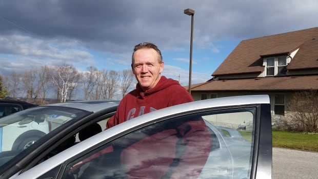 Dave Rogers, getting into his Dodge Neon in Newmarket, says he can tell a homeless person from sight in the suburbs.