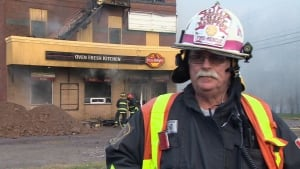 Hampton deputy fire chief Mike Raeburn
