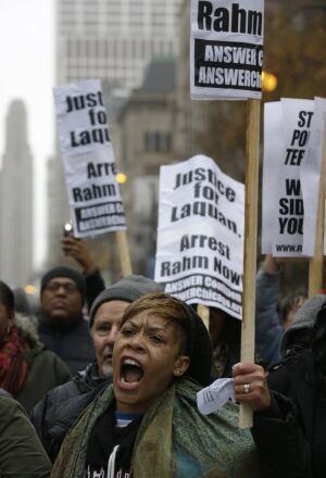 APTOPIX Killings By Police Chicago