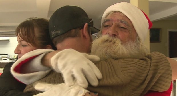 Fernand Gaurtreau gets a new Santa suit