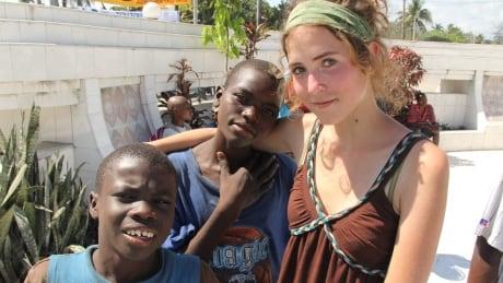 Morgan Wienberg and her kids