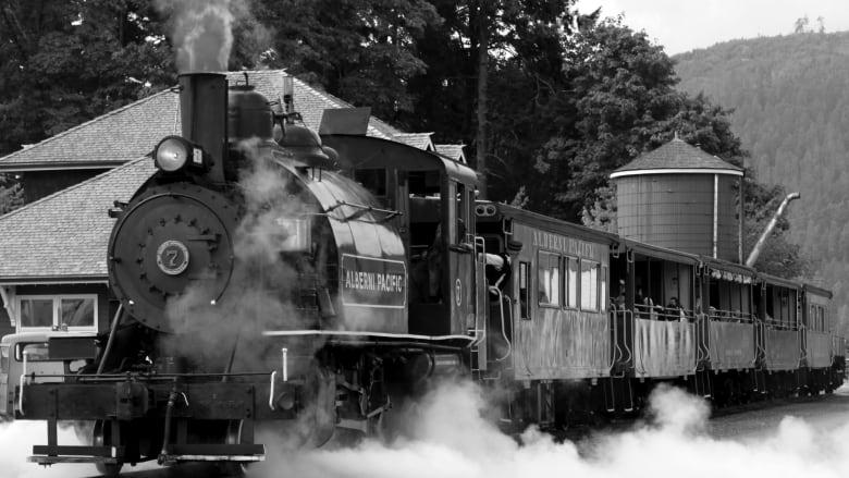 B C  railroad stories told in new book Whistle Posts West | CBC News