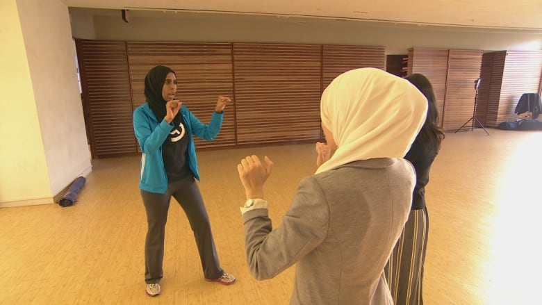 Muslim women self-defence