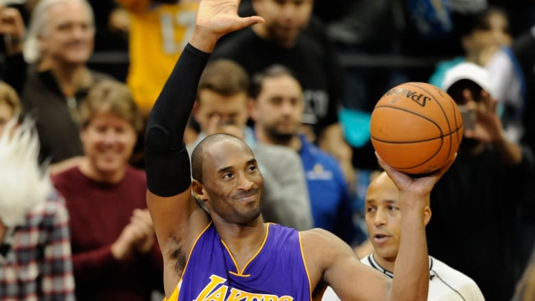 d5c26ec61964 Kobe Bryant of the Los Angeles Lakers announced his retirement via poem on  Sunday. This will be his final season in the NBA. (Getty Images)