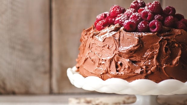 Chocolate Cake from Three Times a Day
