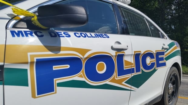 MRC des Collines police responded to a crash along Highway 148 on Thursday afternoon.
