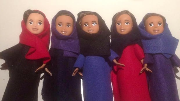 Selina Prevost has transformed Bratz dolls into welcome gifts for Syrian refugee children.