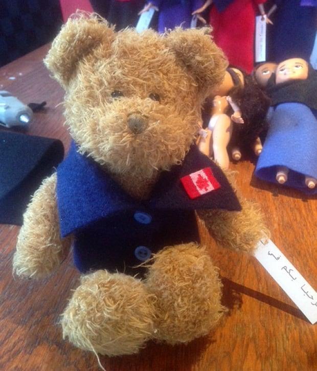 Teddy bear for Syrian refugees