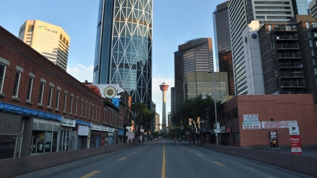With so many layoffs in downtown Calgary, the streets can feel empty and staff can feel disoriented from the changes.